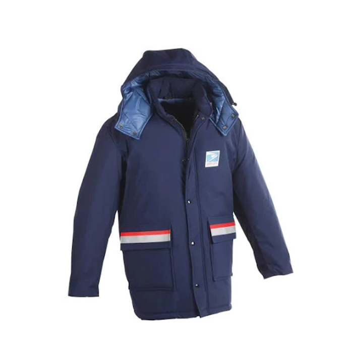 postal uniforms - unisex regulation insulated parka/jacket