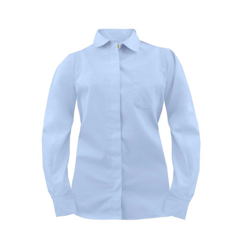 postal uniforms clerk long sleeve dress shirt women's