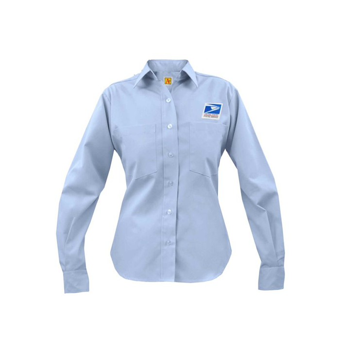 postal uniforms letter carrier long sleeve shirt women's