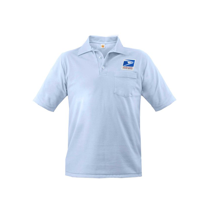postal uniforms letter carrier short sleeve polo shirt men's
