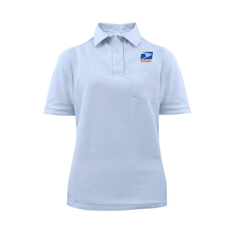 postal uniforms letter carrier short sleeve polo shirt women's