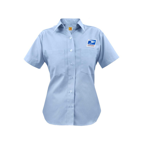 postal uniforms letter carrier short sleeve shirt women's