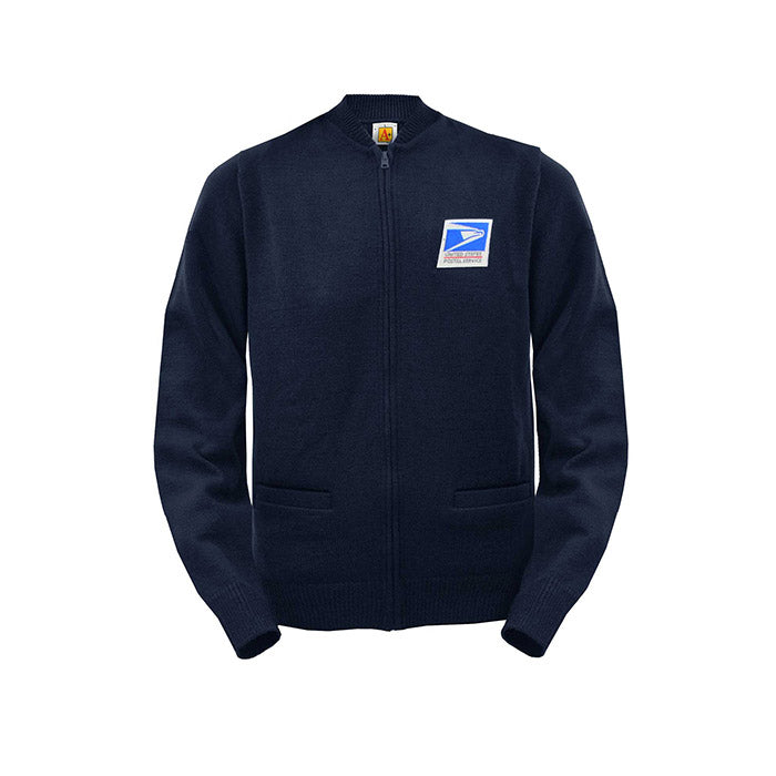 postal uniforms - unisex jersey/light weight cardigan/sweater
