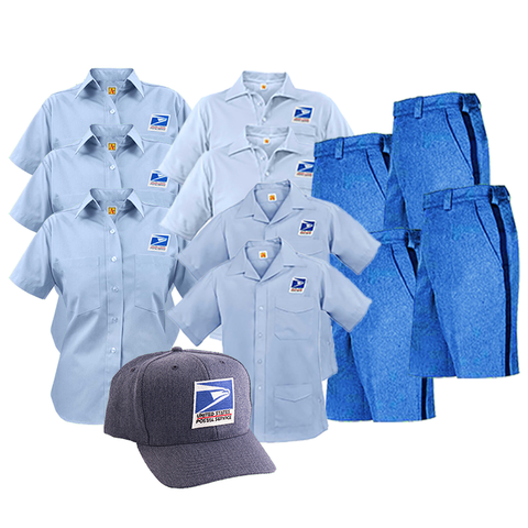 postal uniforms men's letter carrier cca summer bundle
