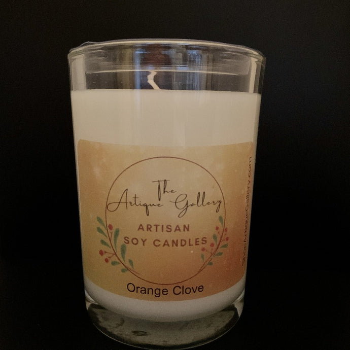 Orange Clove Holiday Soy Candle