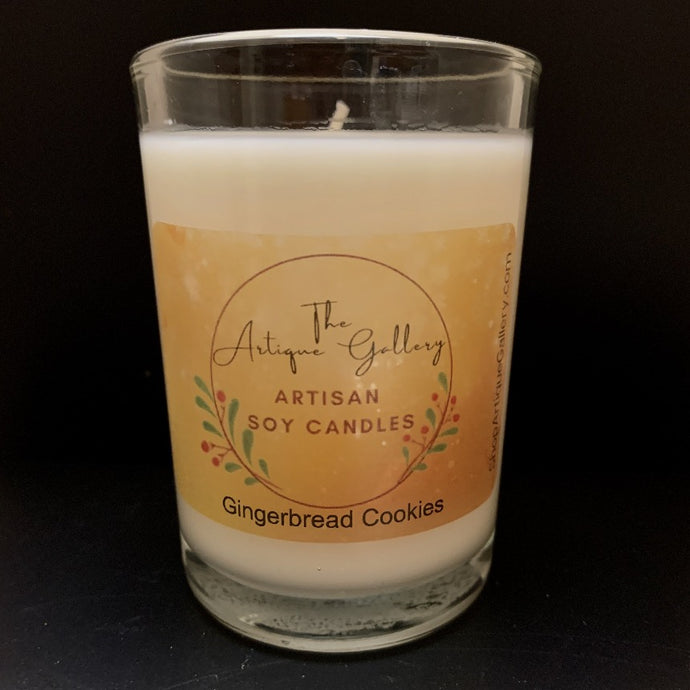 Gingerbread Cookies Holiday Soy Candle