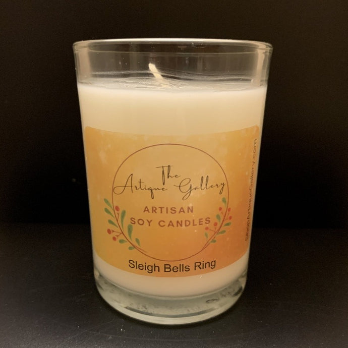 Sleigh Bells Ring Holiday Soy Candle