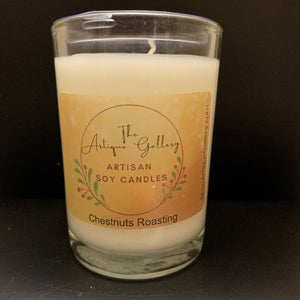 Chestnuts Roasting Holiday Soy Candles