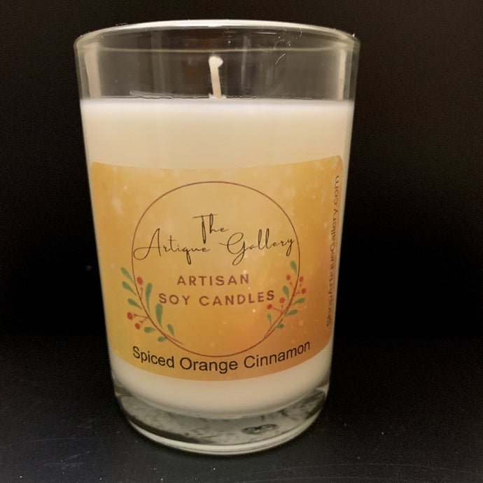 Spiced Orange Cinnamon Holiday Soy Candle