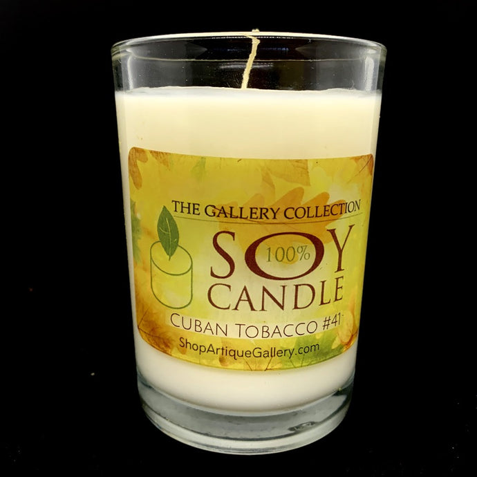 Cuban Tobacco #41 Artisan Soy Candle