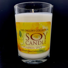 Pumpkin Spice Artisan Soy Candles