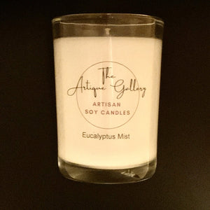 Eucalyptus Mist 8 oz Soy Candles