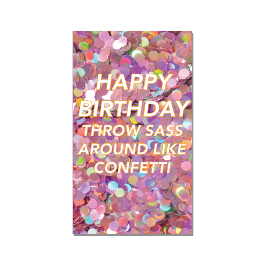 Complimentary Birthday Card