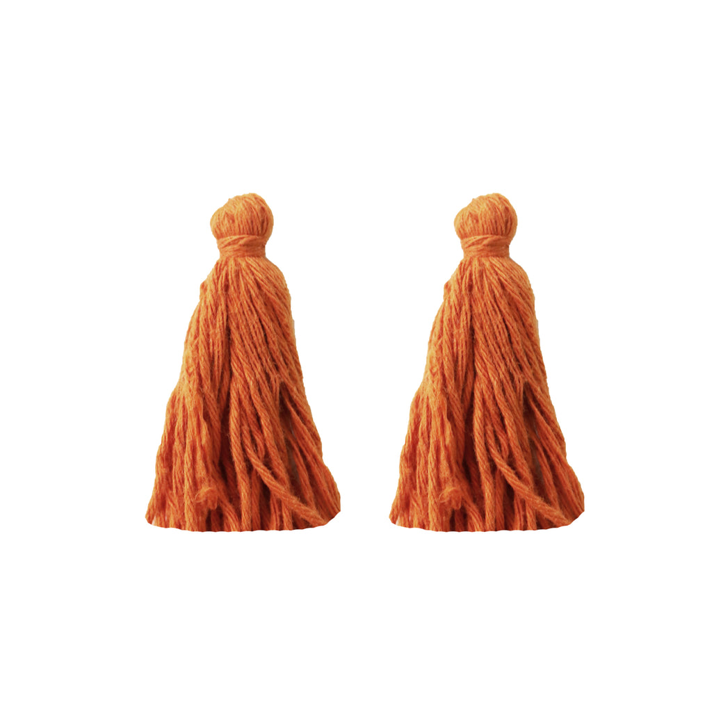 ADD: Burnt Orange Tassels