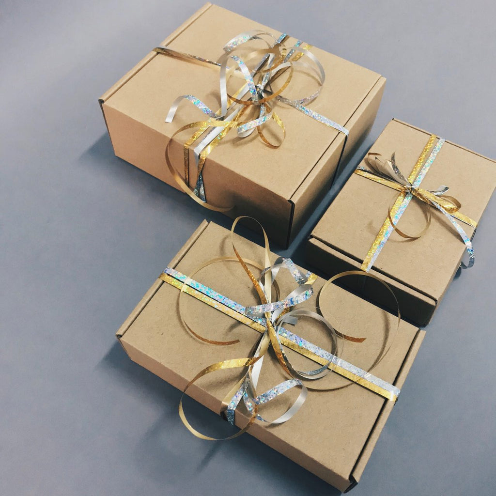 Complimentary Crazy Ribbon Gift Wrapping