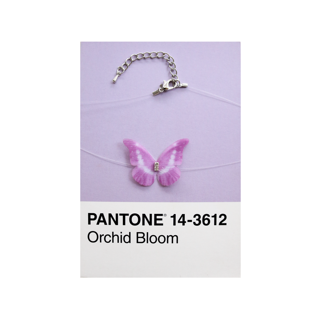 Flutter Naked Choker in Orchid