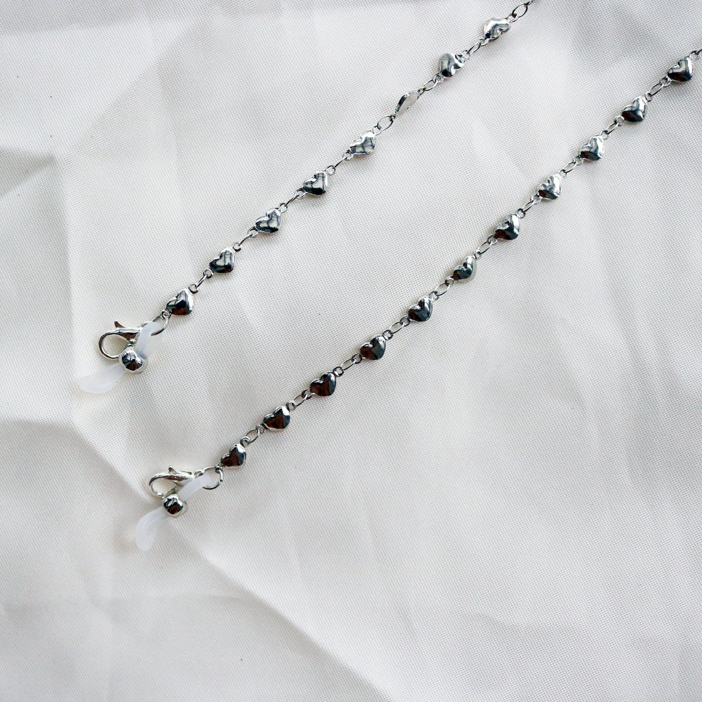 Hearts Multiway Chain in Silver