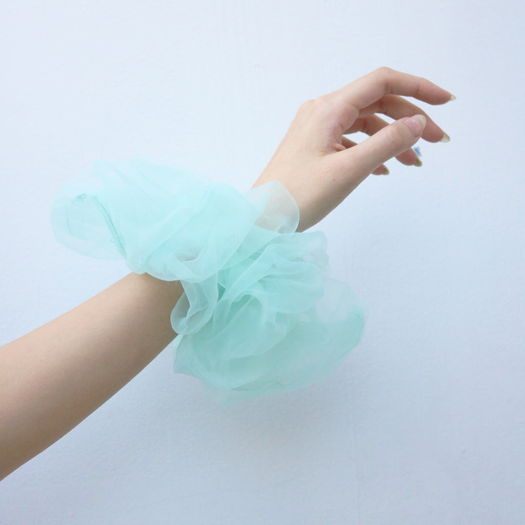 Organza XL Scrunchie in Mint