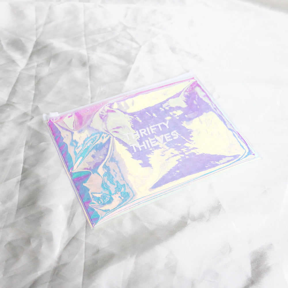 [LIMITED EDITION] Thrifty Thieves Iridescent Bubble Pouch