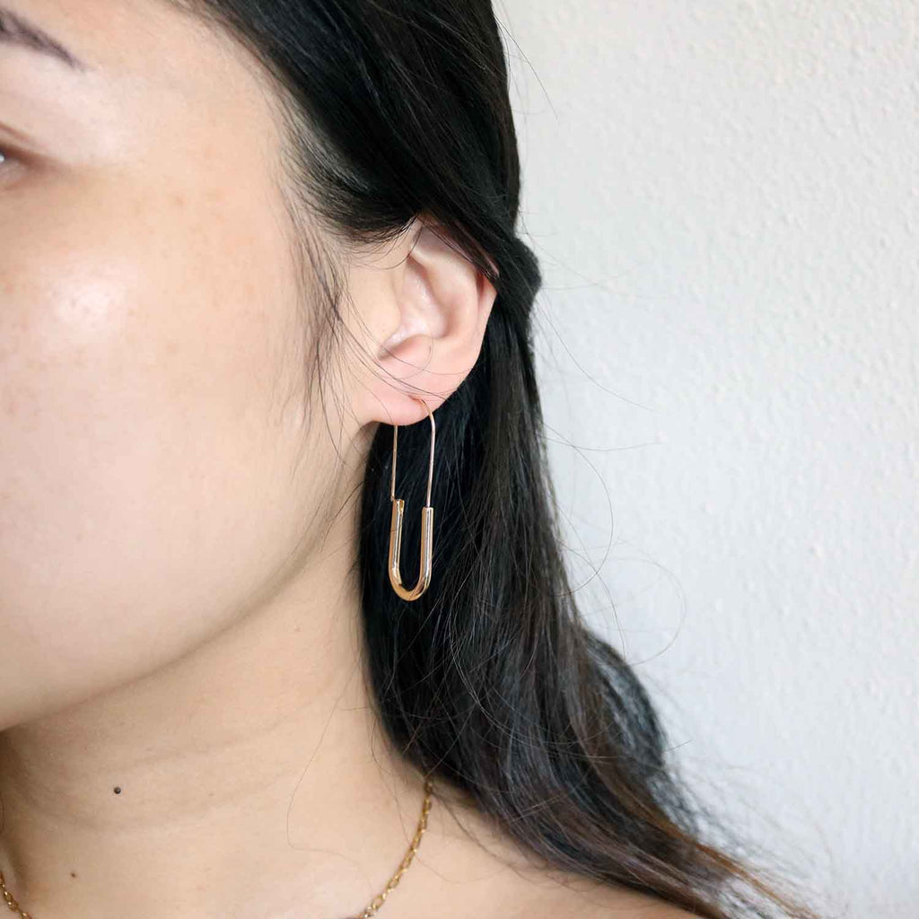 Umbra Plated Hoops in Gold