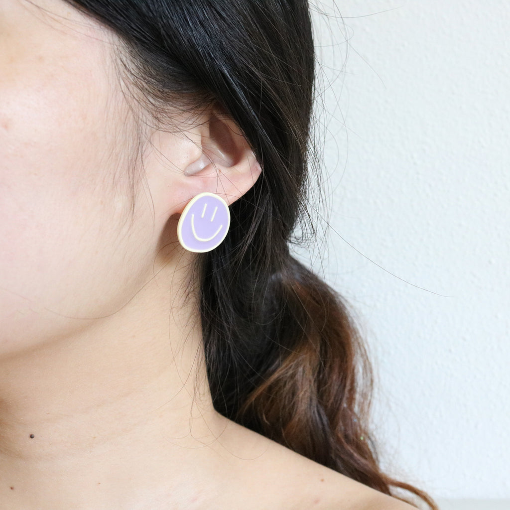 [AS-IS] Crescent Moon Hoops in Gold