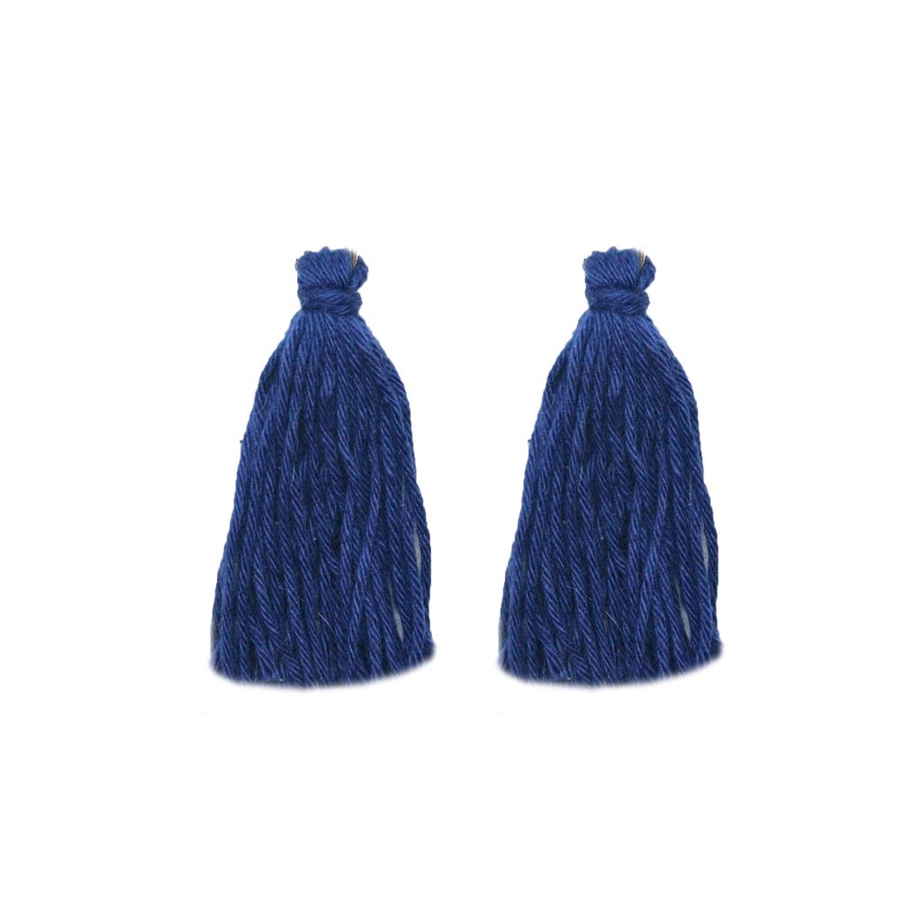 ADD: Navy Tassels
