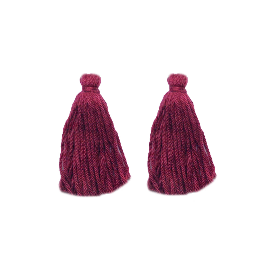 ADD: Plum Tassels