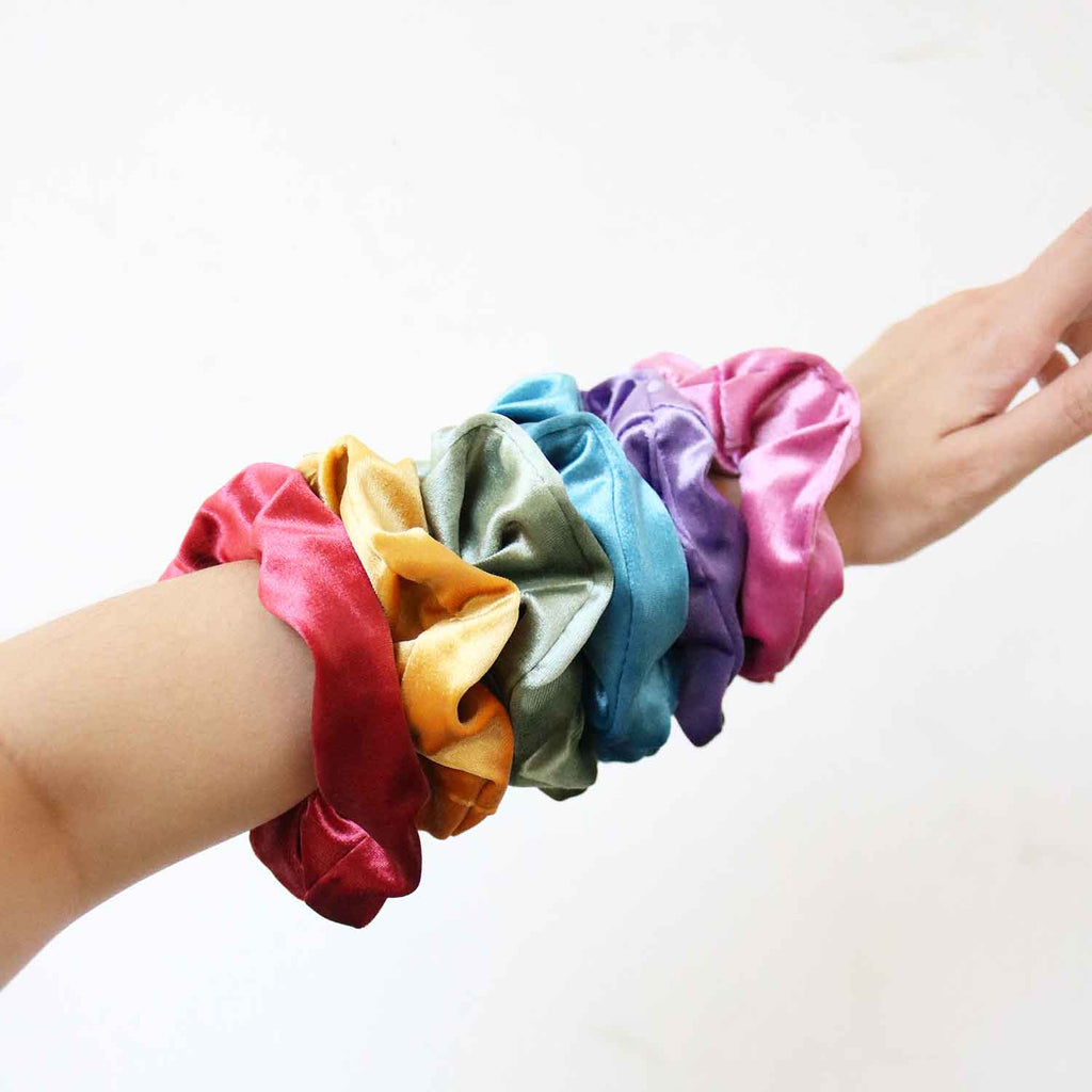Lush Scrunchie in Lilac