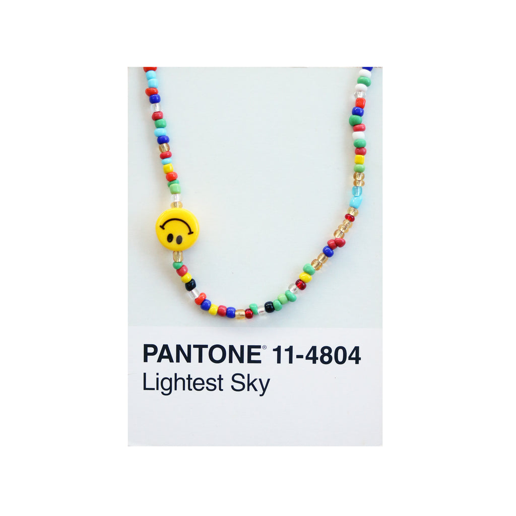 Smiley Rainbow Choker