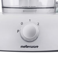 "Mellerware Food Processor 2 Speed Plastic White 1L 350W ""Whiz Master"""
