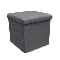 Storage Ottoman Single - Grey