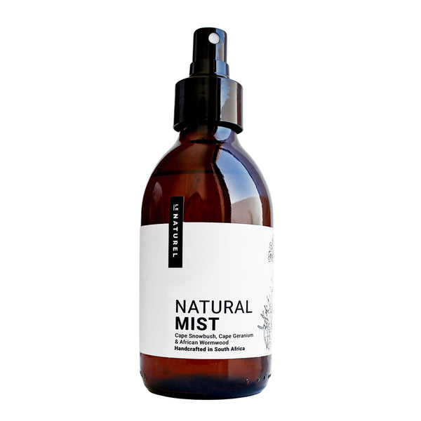 Natural Mist For Room & Body- with Cape Snowbush, Cape Geranium and African Wormwood (200ml)