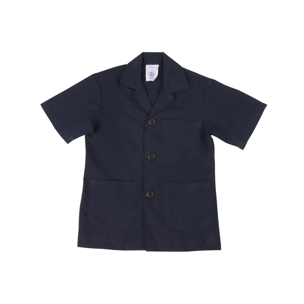 Safari Jacket  - Navy Long