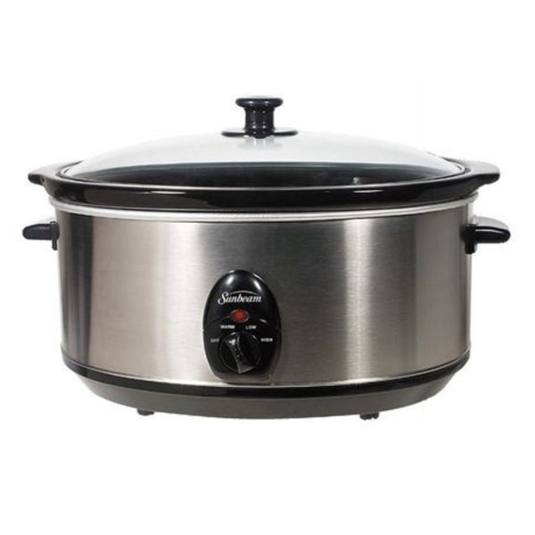Buy-4.5 Litre Slow Cooker | Silver-Online-in South Africa-on Zalemart