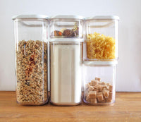 5pc Storage Container Set - Window Lid - Zalemart