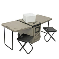 Buy-Camping Fold Out Cooler & Chairs-Online-in South Africa-on Zalemart