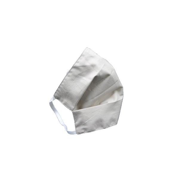 Fabric face mask white (l-xl) set of 2 - Zalemart