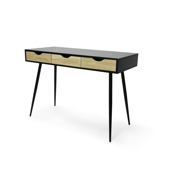Buy-Fine Living - Abby Desk - Black - 3 Draws-Online-in South Africa-on Zalemart