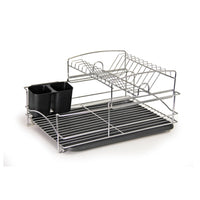 Fine Living Balcony Dish Rack - Black - Zalemart