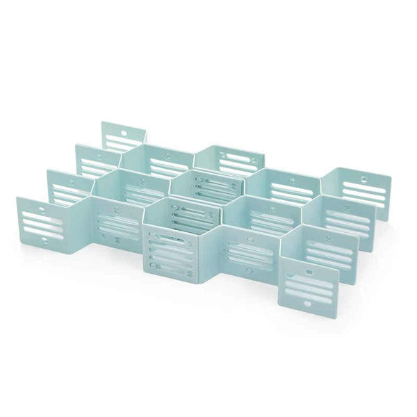 Buy-Fine Living Honeycomb Draw Organiser - Blue-Online-in South Africa-on Zalemart