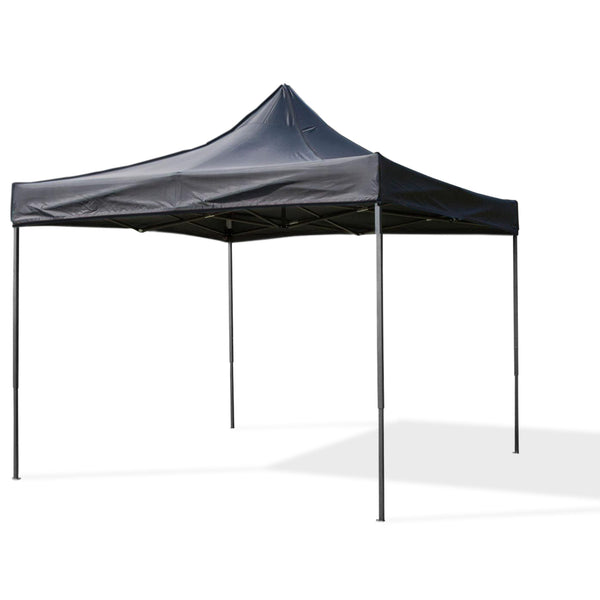 Fine Living Lifestyle Gazebo - Black - Zalemart
