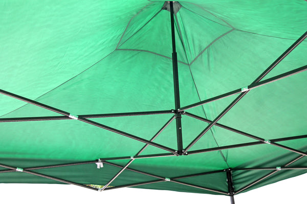 Fine Living Lifestyle Gazebo - Dark Green - Zalemart