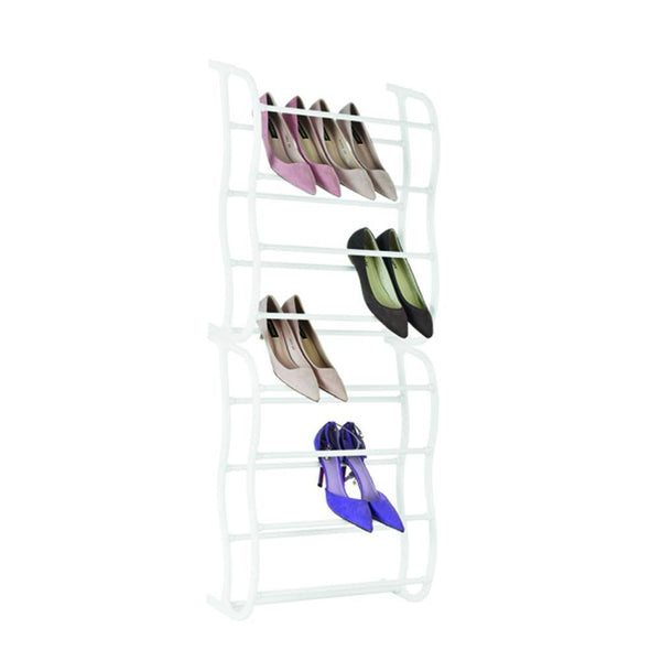 Fine Living - Overdoor 8 Tier Shoe Rack - Zalemart