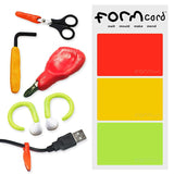 FormCard 3 Pack - DIY Repair Cards (Random Mixed Colours) - Zalemart