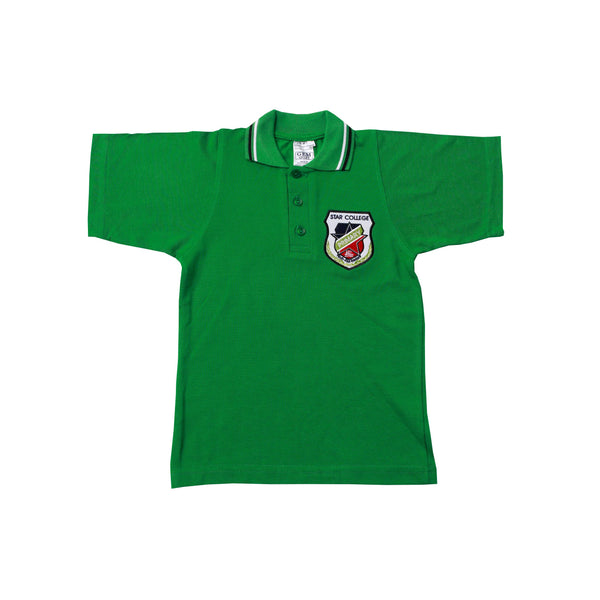 Buy-Golf Shirt Avocado Short Sleeve EMB - Star Primary-Kids XS-Online-in South Africa-on Zalemart
