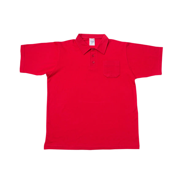 Buy-Golf Shirt Plain - Red-Kids Extra Small-Online-in South Africa-on Zalemart