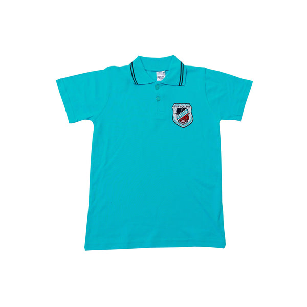 Buy-Golf Shirt Turq Short Sleeve EMB - Star High-Kids M-Online-in South Africa-on Zalemart