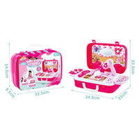 Jeronimo - Beauty Suitcase set -NEW Pink - Zalemart