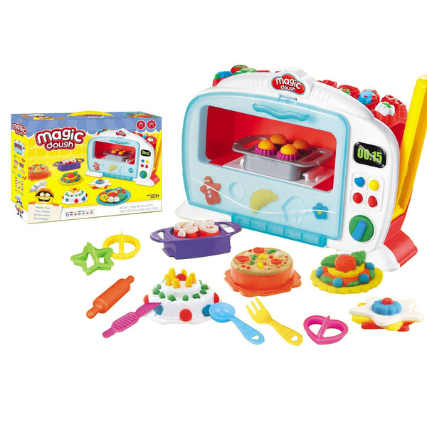 Jeronimo - Kids Dough Microwave Set - Zalemart