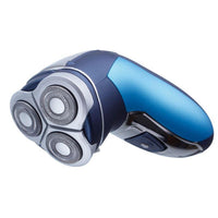 "Buy-Lucky Shaver 3 Head Rechargeable Plastic Blue 3W ""Define""-Online-in South Africa-on Zalemart"